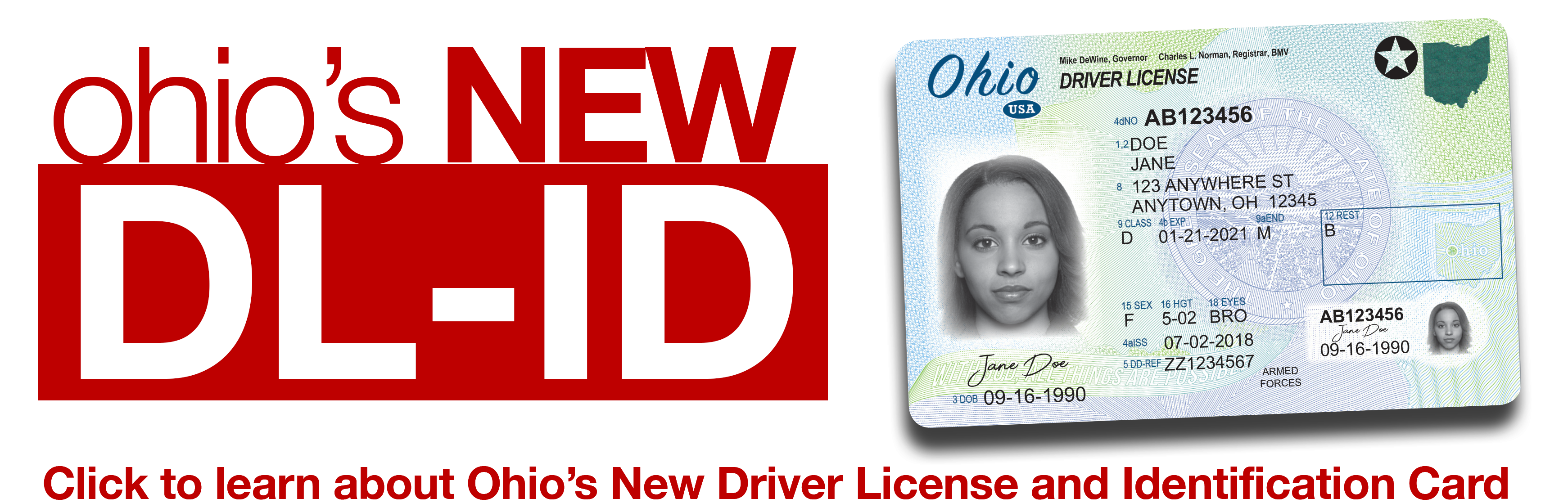 Ohio's New Driver License and Identification Card